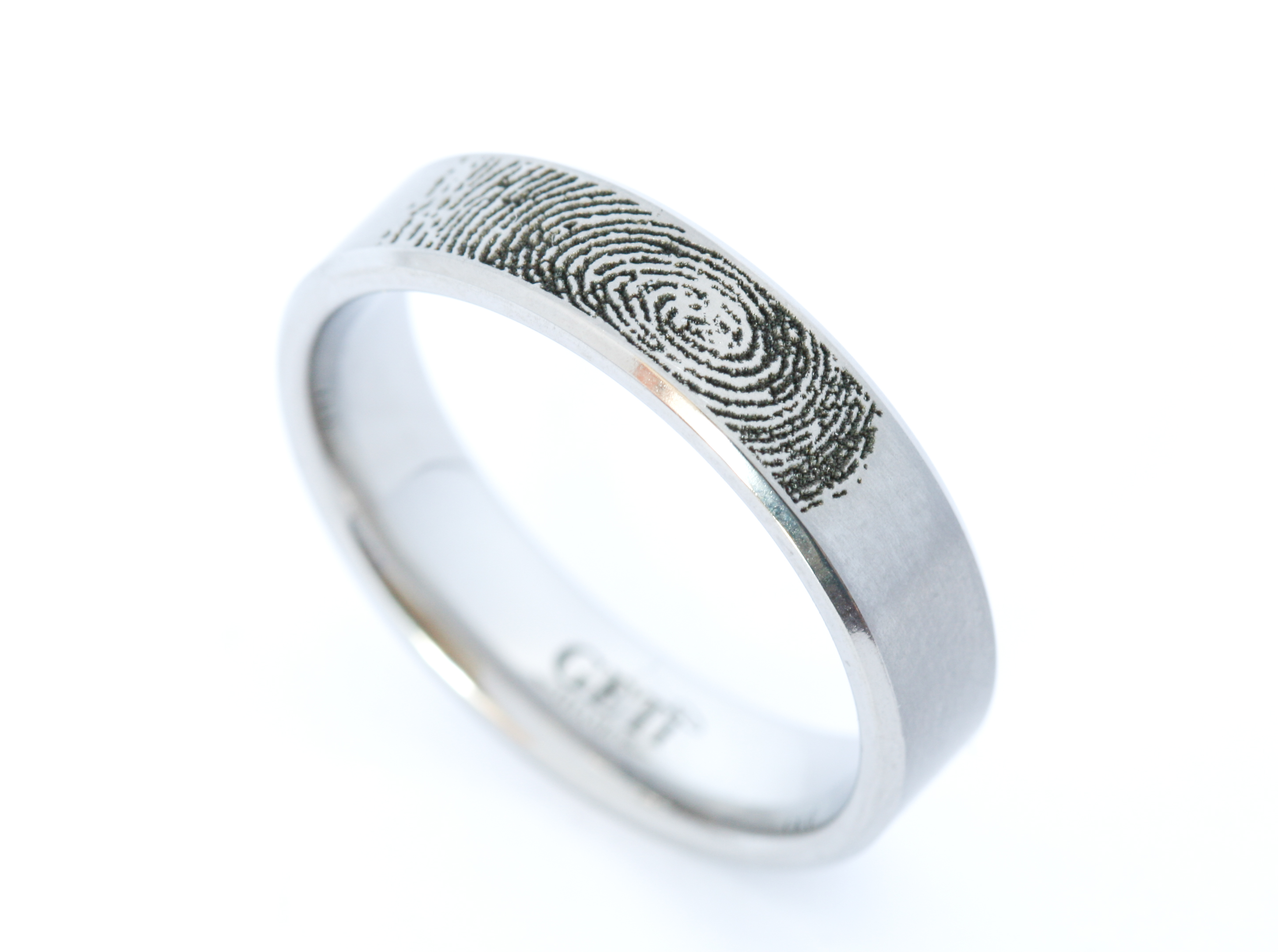Titanium Fingerprint band