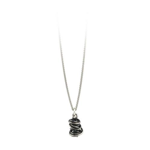 Chaos pendant black jewellery designer aoife omahony co cork chaos pendant black aloadofball Gallery