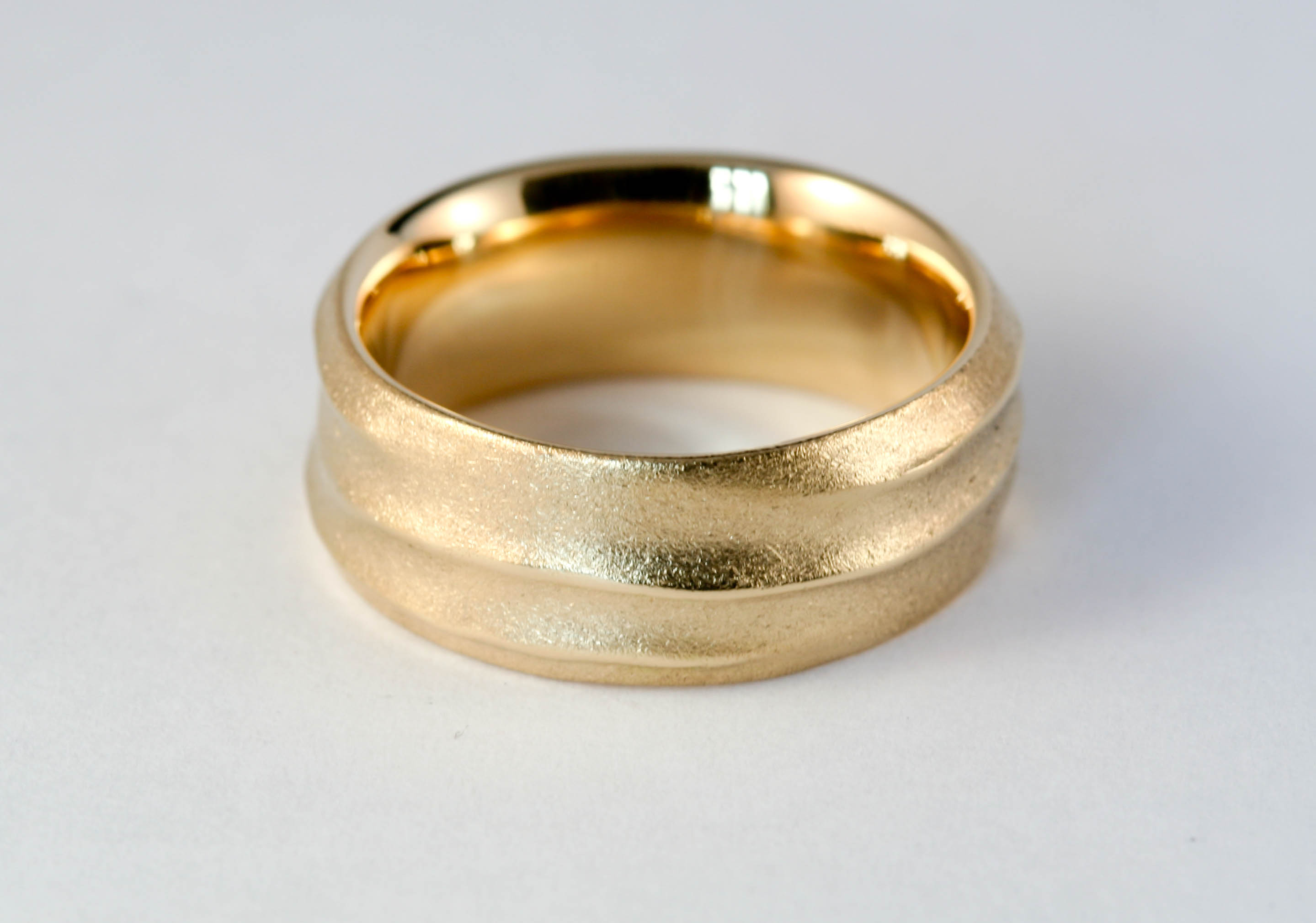 18ct wedding band