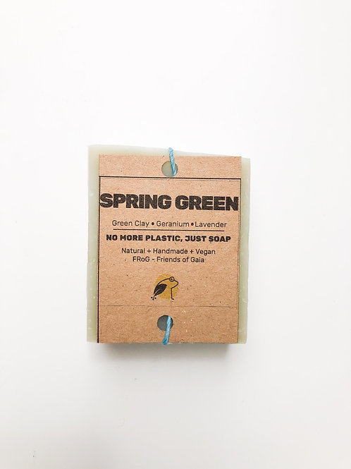 SPRING GREEN - Handmade Soap