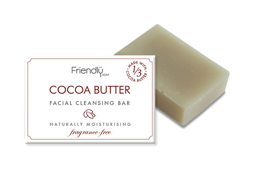 Friendly Soap Facial Cleansing Bar - Cocoa Butter