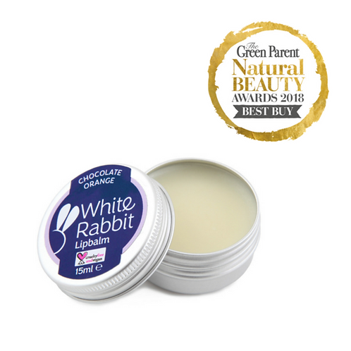 White Rabbit Skincare - Orange and Chocolate Lip Balm