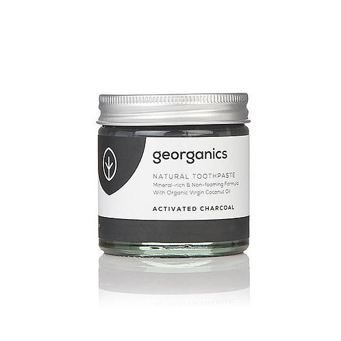 Georganics Natural Mineral Rich Toothpaste - Activated Charcoal 60ml