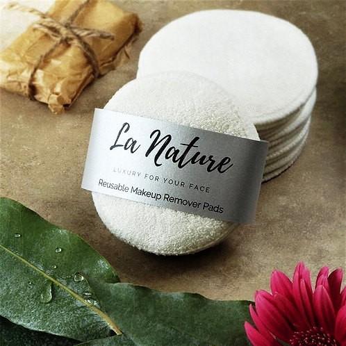 La Nature Washable Reusable Makeup Pads