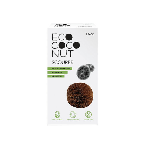 EcoCoconut Scourer Twin Pack