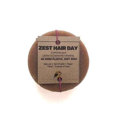 Zest Hair Day Shampoo Bar