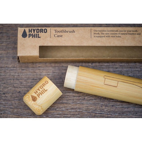 Hydrophil Bamboo Toothbrush Case