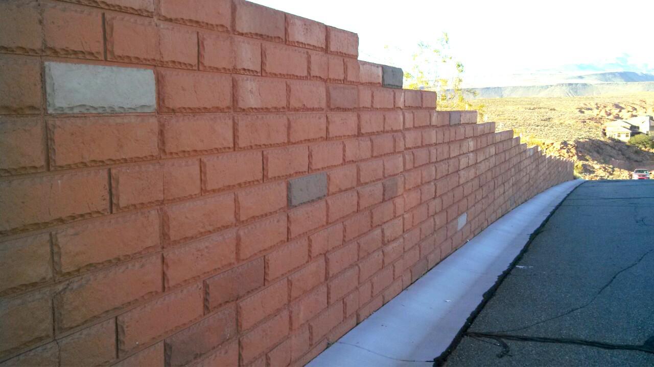 Brick Face 5