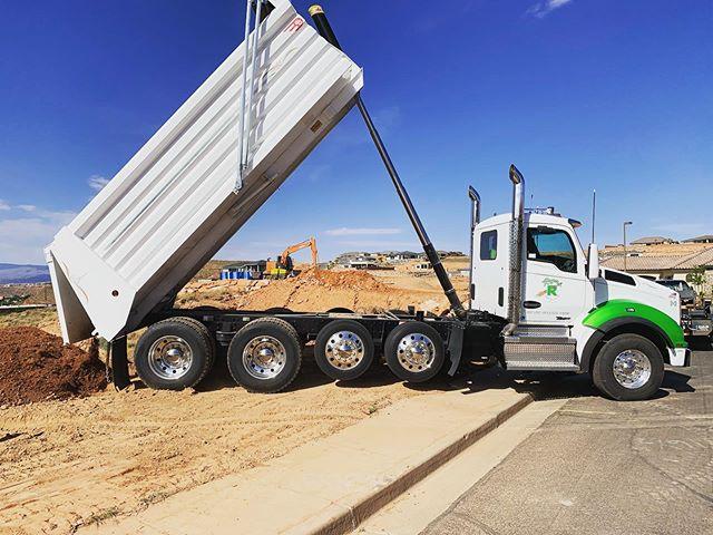 D-3 hauling some dirt! Basement backfill