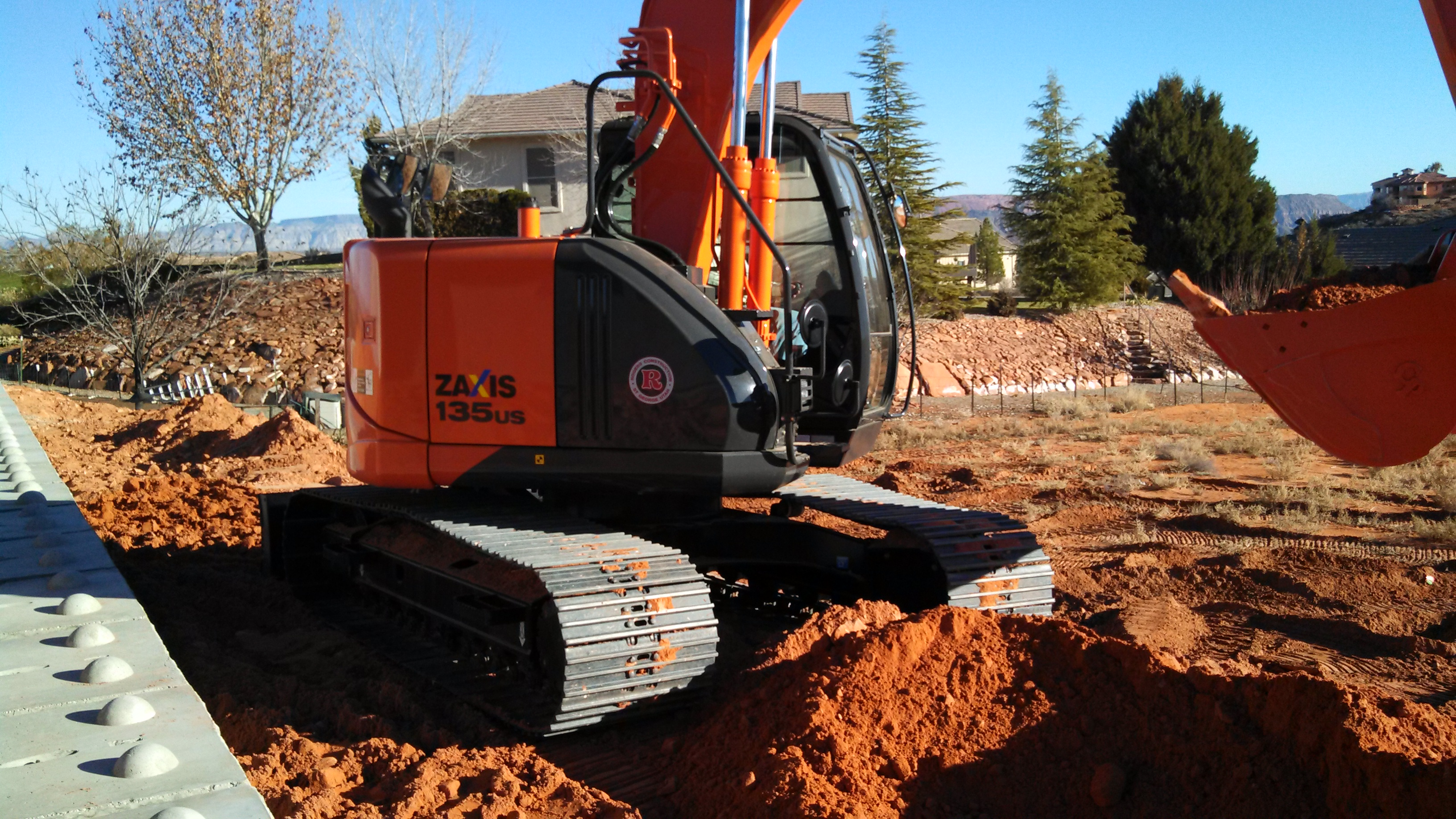 Rogers New Excavator