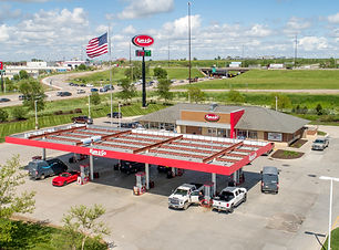 High Note Aerial - Gretna Kum and Go-17.