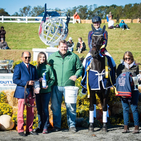Thieriot Stutes Shines to Win The Dutta Corp./USEF CCI3* Eventing National Championship