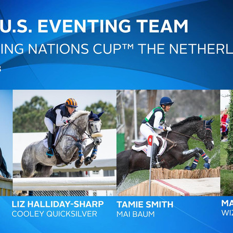 Land Rover U.S. Eventing Team Announces Update for FEI Eventing Nations Cup™ The Netherlands
