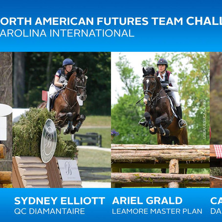 USEF/USET Announces North American Futures Team Challenge Participants for Carolina International