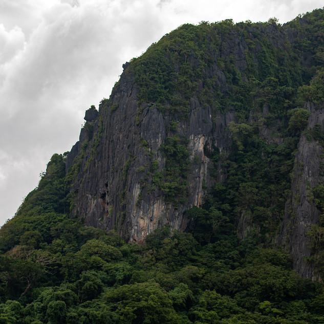 Cliffs of Palawan.