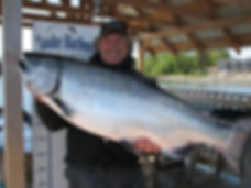 Salmon Charter guide in Victoria, BC