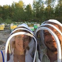 bees with Amanda and Kevin.jpg