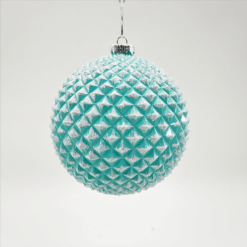 DURIAN BALL 130MM BLUE WITH GLITTER