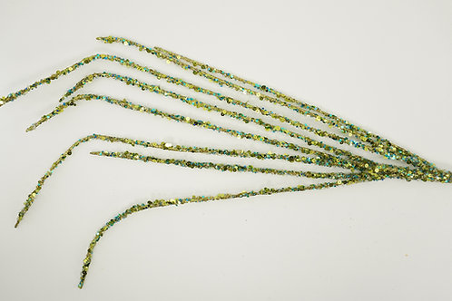 BEADED BRANCH GREEN AND BLUE