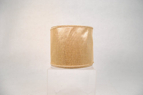 RIBBON SILKY SHEEN 4X10 GOLD