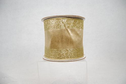 RIBBON GLITTER CANDY 4X10 GOLD