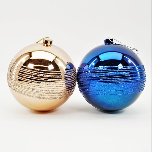 BALL SHINY WITH GLITTER 150mm