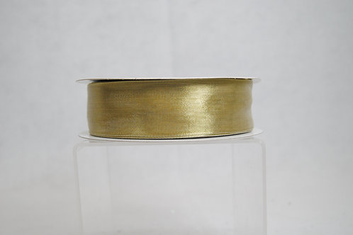 RIB MET MESH 1.5INX50 YDS GOLD