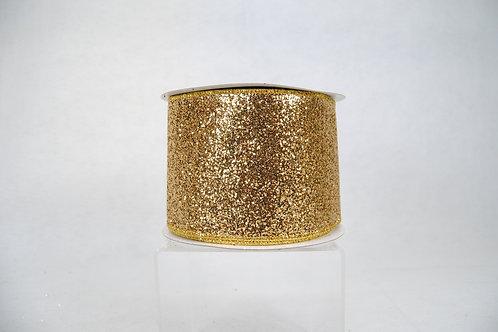 RIBBON GLITTER MAGIC 4X10 GOLD