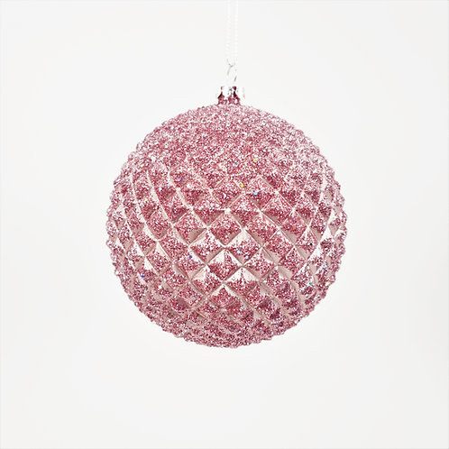 DURIAN BALL 100MM PINK / MAUVE WITH FLITTER