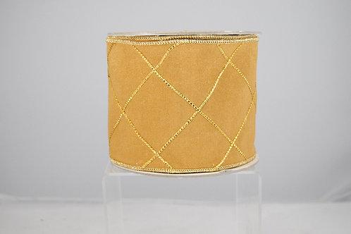RIBBON GOLD LATTICE 4X10 GOLD