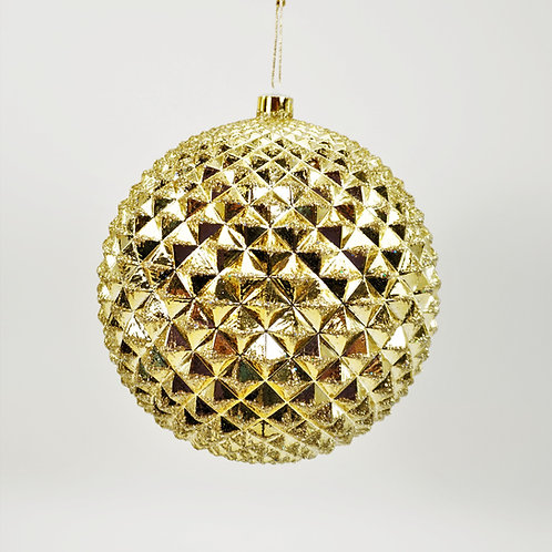 DURIAN BALL GOLD WITH GLITTER