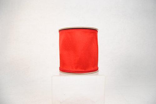 RIBBON TAFFETA WRED 4X10YD RED