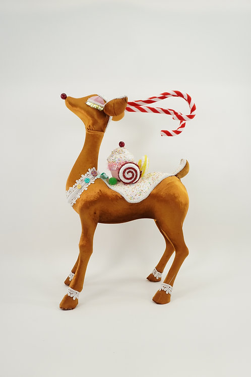 *Pick up only* REINDEER STANDING 30IN BROWN