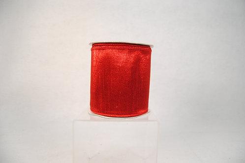 RIBBON SHIMMER SHEEN 4X10 RED