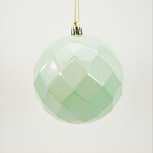DIAMOND BALL 100MM PEARL LIGHT GREEN