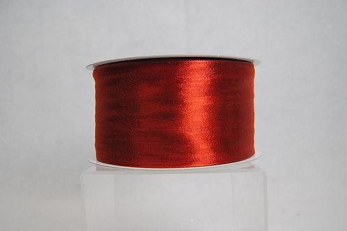 RIB MET MESH 3IN X50 YDS RED