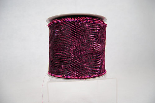 RIBBON METALLIC GLITZ 4X10 PURPL