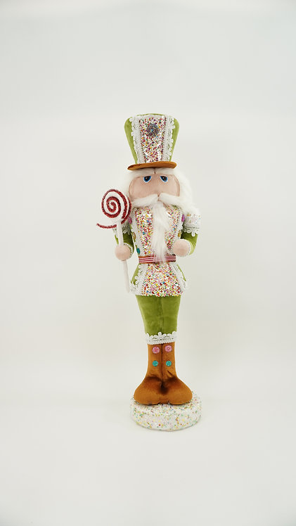 NUTCRACKER SOLDIER 25IN GREEN