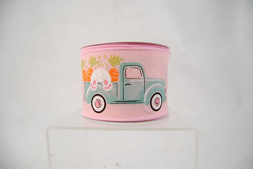 RIBBON TRUCK WITH BUNNY 2.5X10