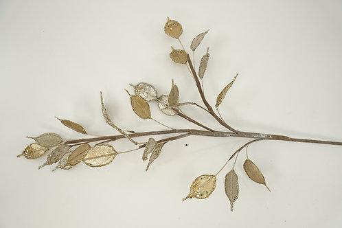 SPRAY MONEY PLANT LIGHT GOLD / PLATINUM