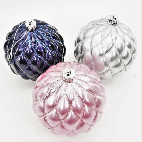 CANDY APPLE DESIGN BALL 150MM ( 3 DIFFERENT COLORS )
