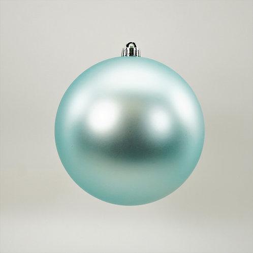 MATTE LIGHT BLUE BALL ORNAMENT