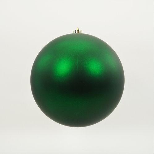 MATTE GREEN BALL ORNAMENT