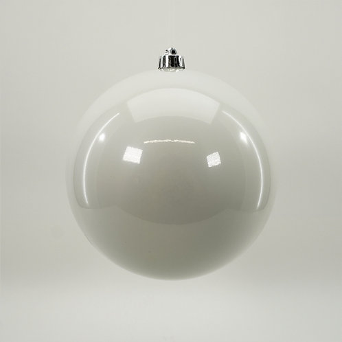 SHINY PEARL WHITE BALL ORNAMENT