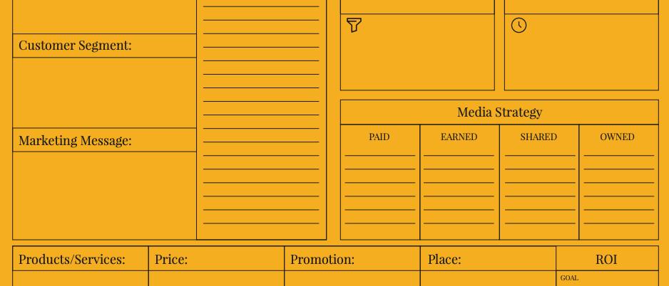 Marketing Campaign Worksheet