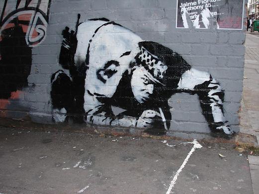 Banksy - Snorting Copper