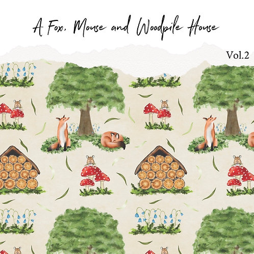 A Fox, Mouse and Woodpile House