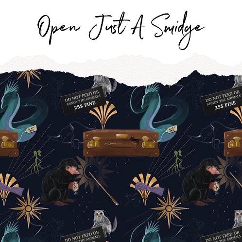 Open Just A Smidge