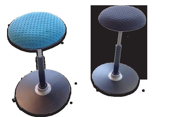 Pivot sit-stand stool
