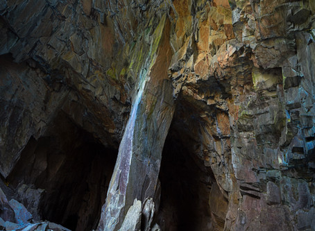 Cathedral Cave, Little Langdale